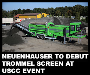 Neuenhauser to debut trommel screen at USCC event