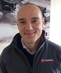 Terex Washing Systems appoints global sales director