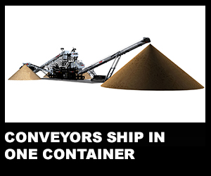 Conveyors ship in one container