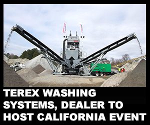 Terex Washing Systems, dealer to host California event