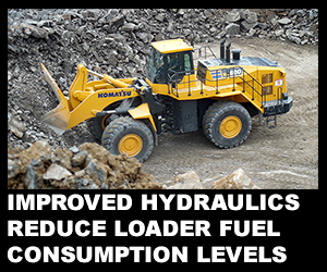 Improved hydraulics reduce loader fuel consumption levels