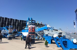 CDE Global debuts Infinity Screening line at Bauma in Germany