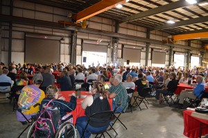 Hundreds attend Screen Machine Industries' open house event in Ohio