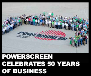 Powerscreen celebrates 50 years of business