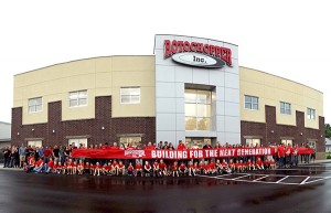 Rotochopper held a ribbon-cutting ceremony for its new office. Photo courtesy of Rotochopper.