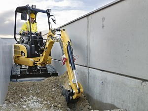 Caterpillar will focus on growing its global mini excavator business as it leverages existing facilities and design teams to deliver cost effective and efficient new machines weighing less than 3 tons. Photo courtesy of Cat.
