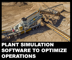 Plant simulation software to optimize operations