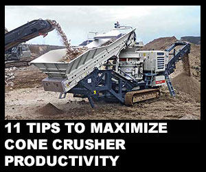 11 tips to maximize cone crusher productivity