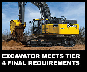 Excavator meets Tier 4 Final requirements