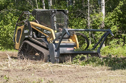Compact track loader versatile, works on many surfaces