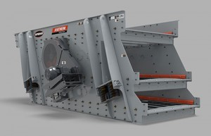 Superior's Anthem Inclined Screen can be engineered with a single- or double-shaft drive depending the the customer's needs. Photo courtesy of Superior