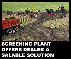 Screening plant offers dealer a salable solution