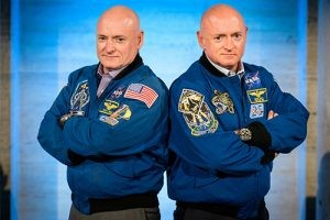 Captain Scott Kelly and Mark Kelly, former NASA astronauts, will present during ConExpo-Con/Agg's Tech Talks program. Photo courtesy of ConExpo-Con/Agg