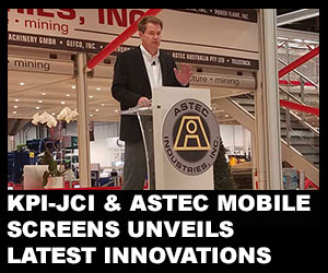 KPI-JCI and Astec Mobile Screens unveils latest innovations