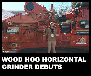Wood Hog horizontal grinder debuts