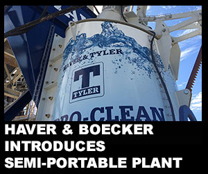 Haver & Boecker introduces semi-portable plant