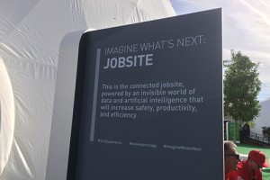 In the near future, jobsites will integrate more telematics, according to Honeyman. Photo by Megan Smalley