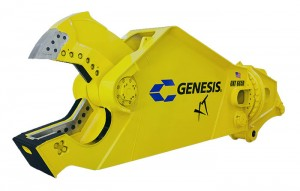 Genesis Attachments' Pulse Technology delivers live diagnostic measurements for a number of functions. Photo courtesy of Genesis Attachments