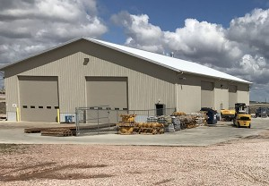 Intertractor America's service center is located in Gillette, Wyoming. Photo courtesy of The Promersberger Co.