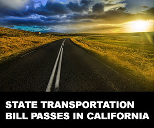 State transportation bill passes in California