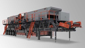 Superior Industries says its Tandem screen plant gives operators more options for processing material. Photo courtesy of Superior Industries.