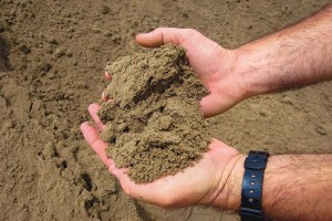 The New Yorker claimed the world is running out of sand in its May 29 edition. Photo courtesy of Superior Industries.