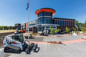 The expansion doubles the square footage of the original facility. Photo courtesy of Doosan Bobcat.